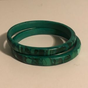 Jewelry - African Malachite Braclet bangles